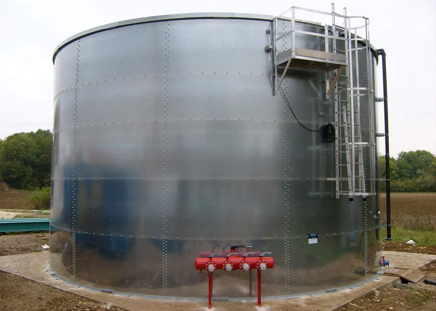 Емкость для хранения нефтепродуктов V=5 куб.м.